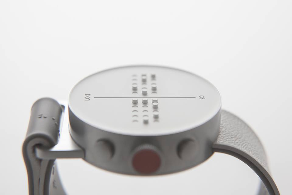 Dot Watch: El nuevo relojbraille